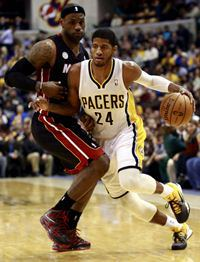 An unconfirmed Paul George sighting.